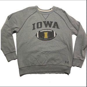 Under Armor men's XL IOWA NCAA SWEATER CREW NECK